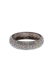 Rings & Things Rhinestone Studded Bangle - Front cropped