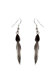 Rings & Things Rocker Leaf Earrings - Product Mini Image