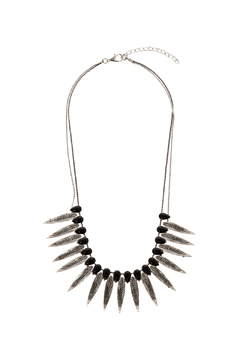 Rings & Things Rocker Leaf Necklace - Product List Image