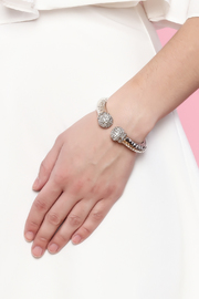 Rings & Things Silver Bangle - Back cropped