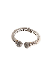 Rings & Things Silver Bangle - Product Mini Image