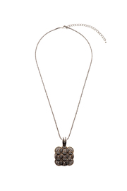Rings & Things Square Pendant Necklace - Product Mini Image