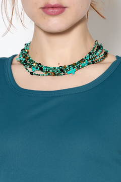 Rings & Things Turquoise Necklace - Alternate List Image