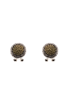 Shoptiques Product: Two-Toned Earrings