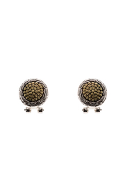 Rings & Things Two-Toned Earrings - Product Mini Image