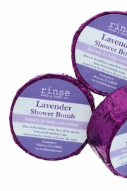 Rinse Bath & Body  Lavender Shower Steamer - Front cropped
