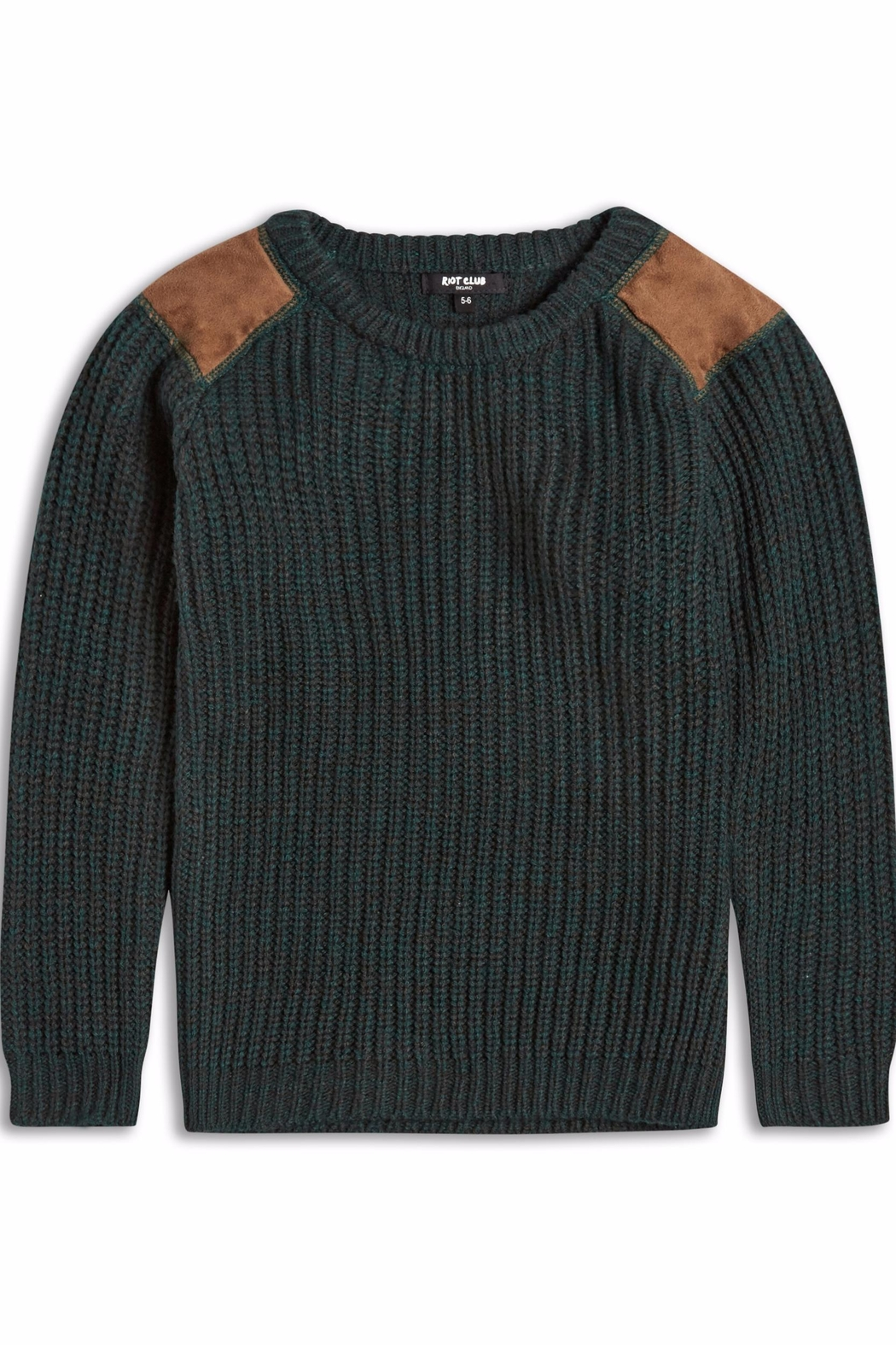 Riot Club Dark Green Sweater - Main Image