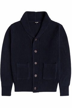 Shoptiques Product: Navy Cardigan Sweater