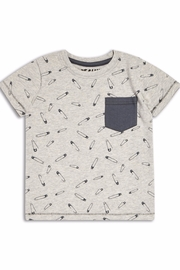 Riot Club Pins Pocket Tee - Front cropped