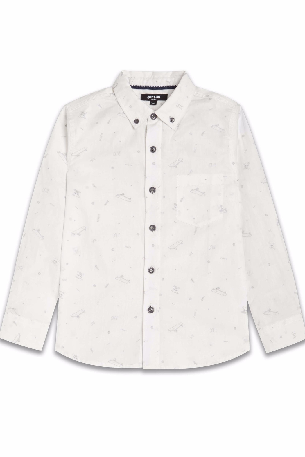 Riot Club Rebel Oxford Shirt - Main Image