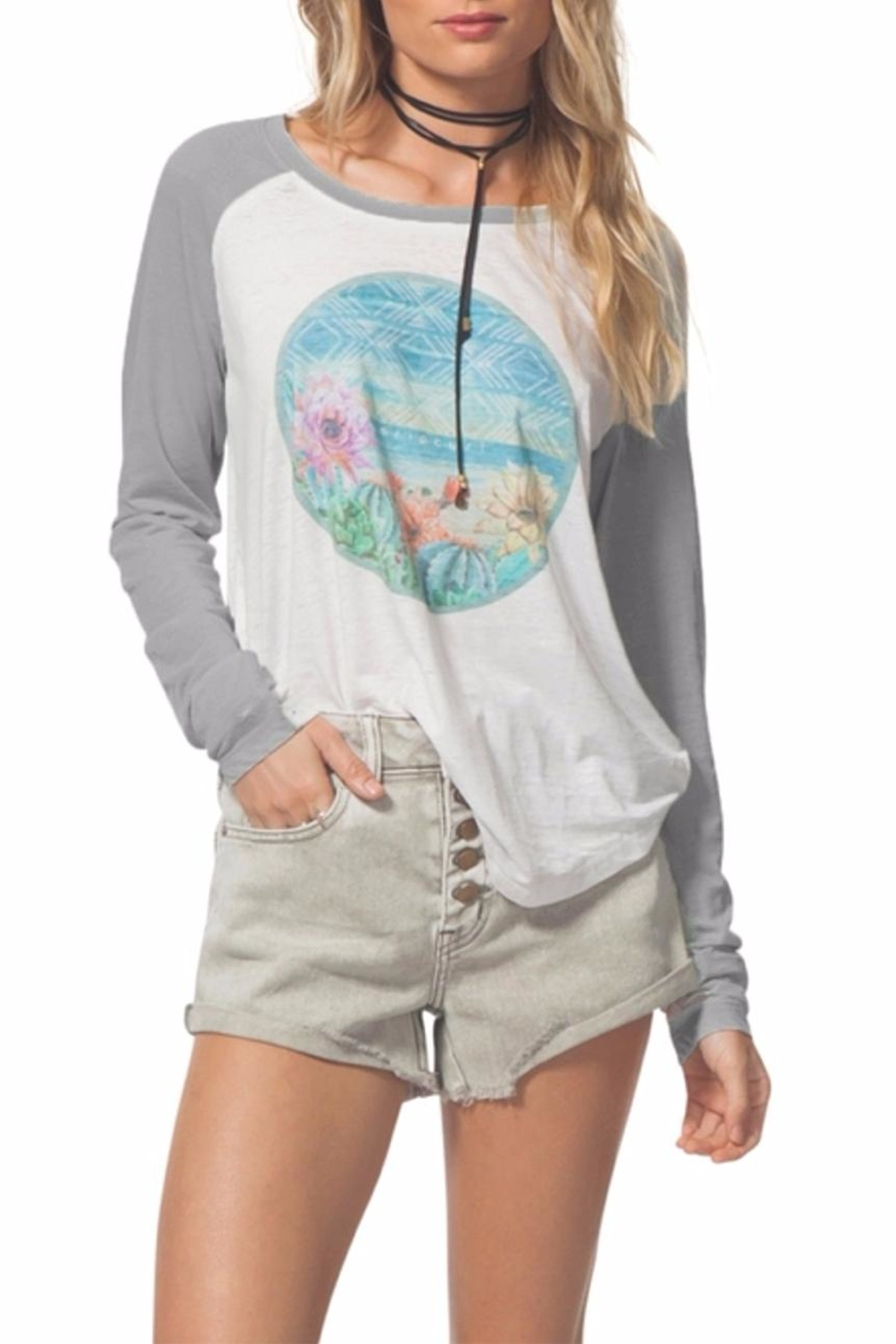 Rip Curl Cactus Flower Tee - Front Cropped Image