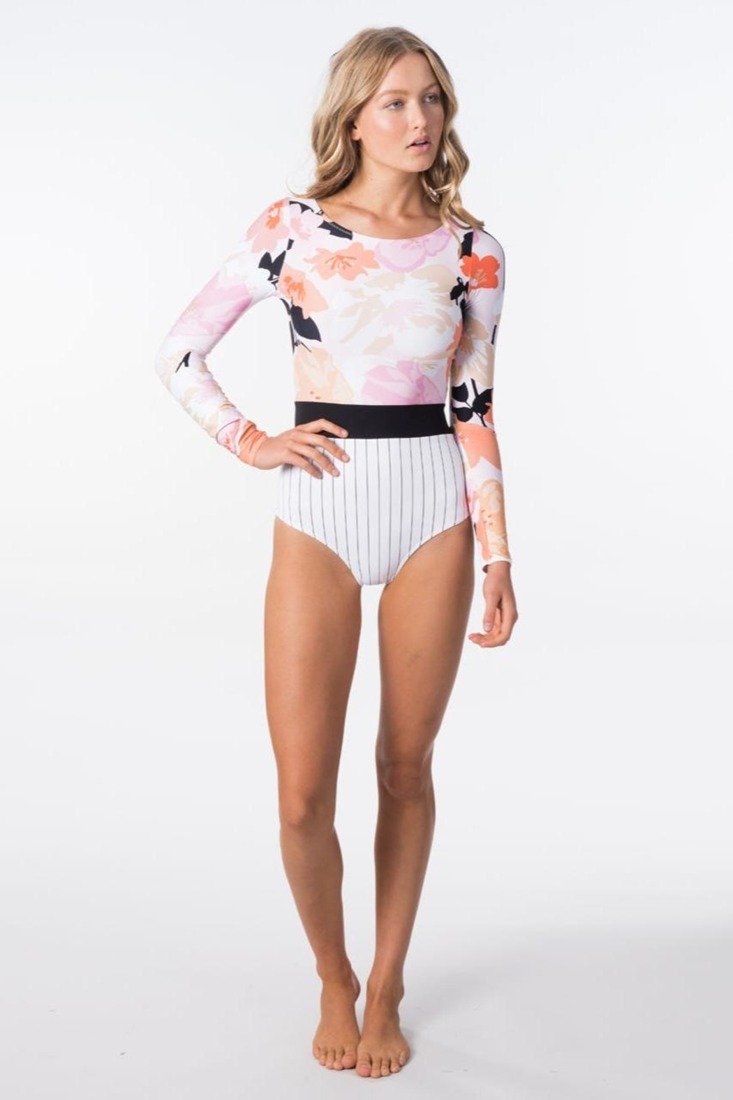 Rip Curl Lakeshore Longsleeve One Piece - Side Cropped Image