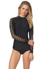 Rip Curl Surf Mesh Rashguard - Front cropped