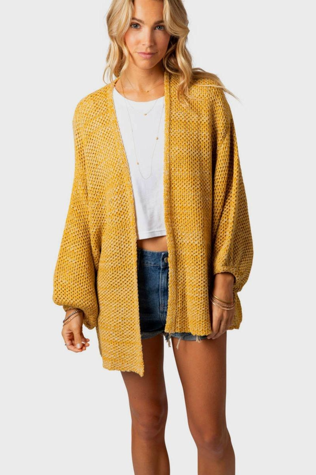 Rip Curl Warm Up Cardigan - Side Cropped Image