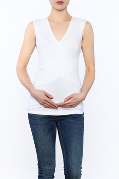 Shoptiques Product: White Embrace Tank Top