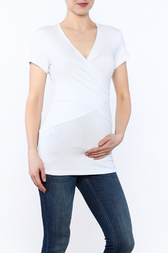 Shoptiques Product: White Embrace Tee