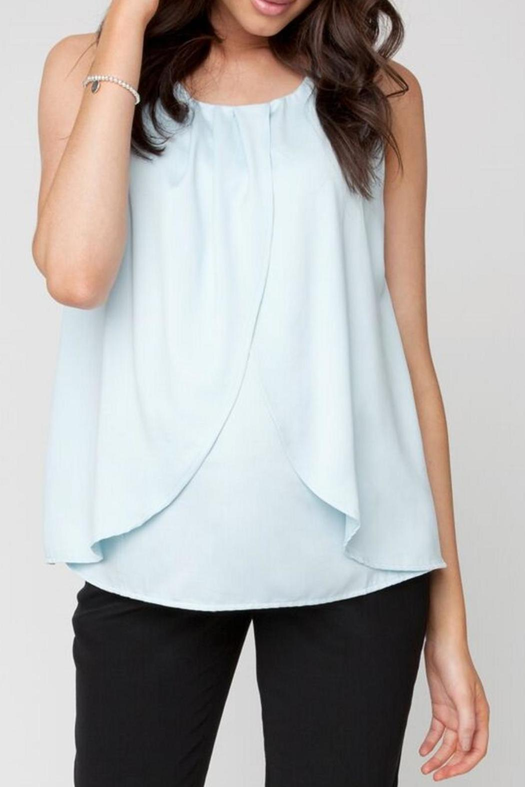 Ripe Maternity Alto Nursing Blouse - Front Cropped Image