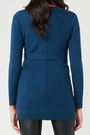 Ripe Maternity Belted Knit Sweater - Front full body