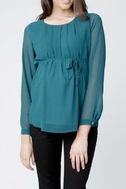 Ripe Maternity Cumulus Blouse - Front cropped