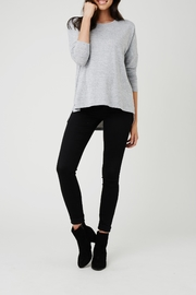 Ripe Maternity Lightweight High-Low Sweater - Front cropped