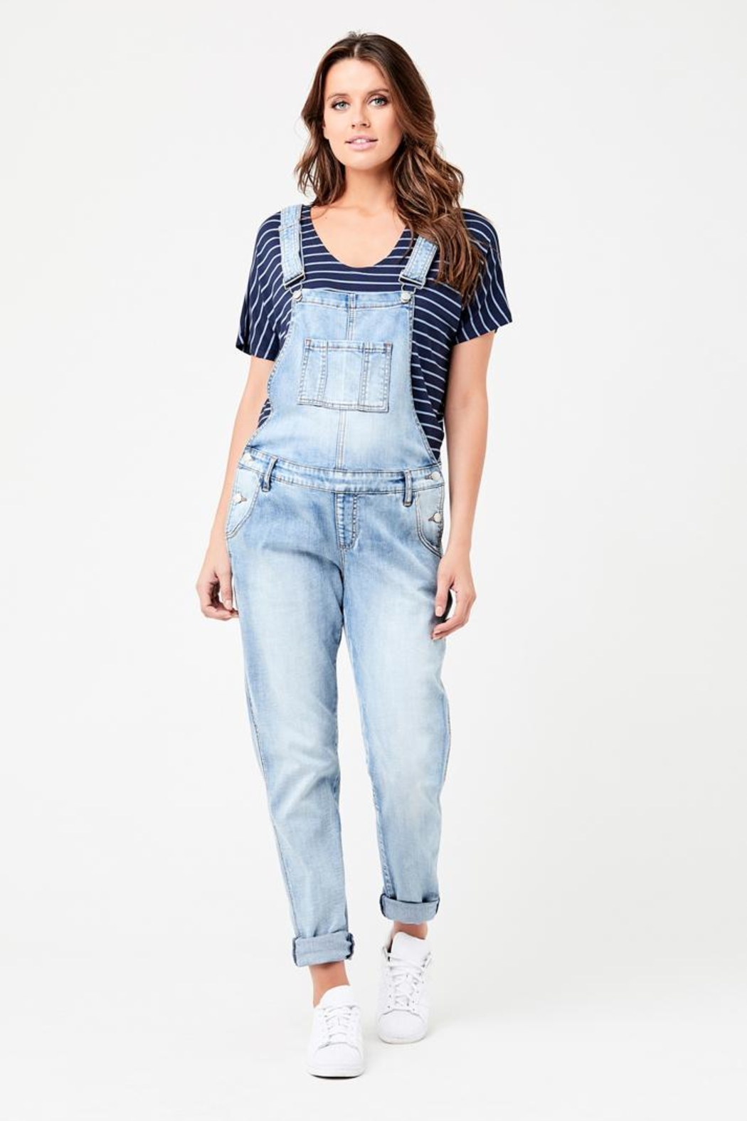 Ripe Maternity Maternity Overalls - Front Cropped Image