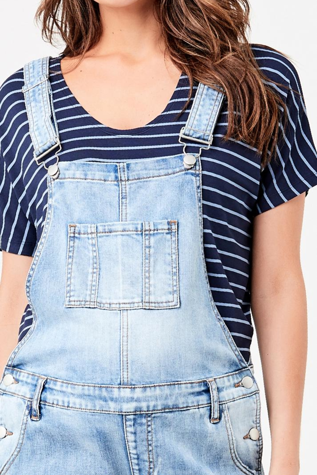 Ripe Maternity Maternity Overalls - Side Cropped Image