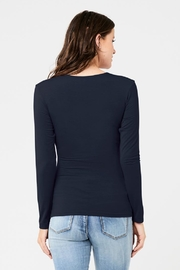 Ripe Maternity Embrace Top - Navy - Side cropped