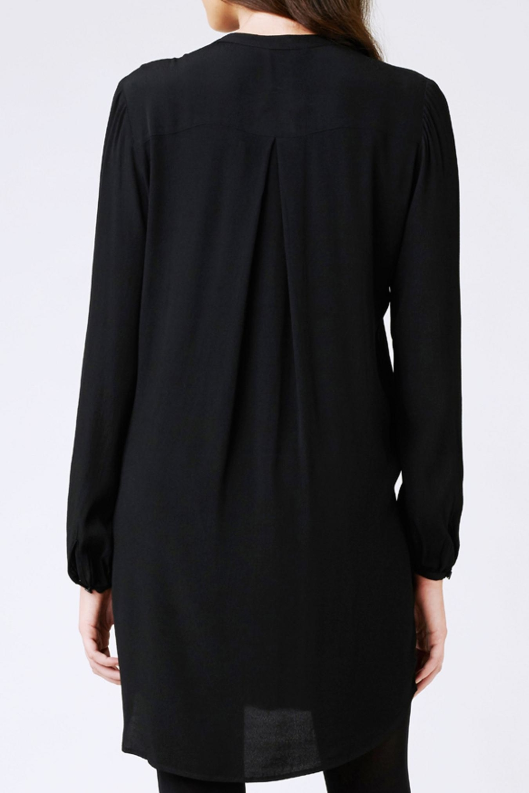 Ripe Maternity Robyn Pintuck Tunic - Side Cropped Image