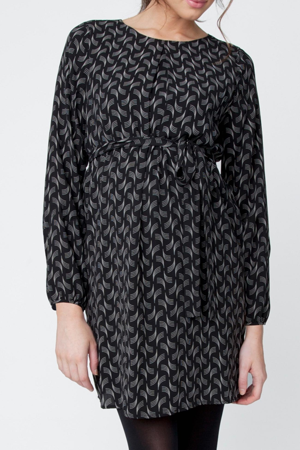 Ripe Maternity Soundwave Tunic Dress - Main Image