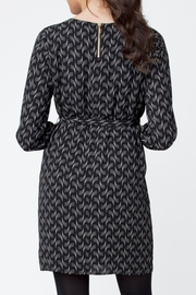 Ripe Maternity Soundwave Tunic Dress - Front full body