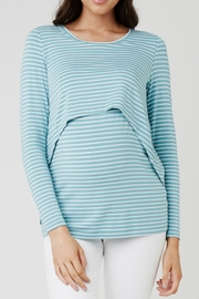 Ripe Maternity Turquoise Swing Top - Product Mini Image