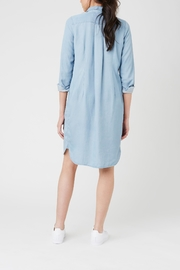 Ripe Maternity Weekend Shirt Dress - Front full body