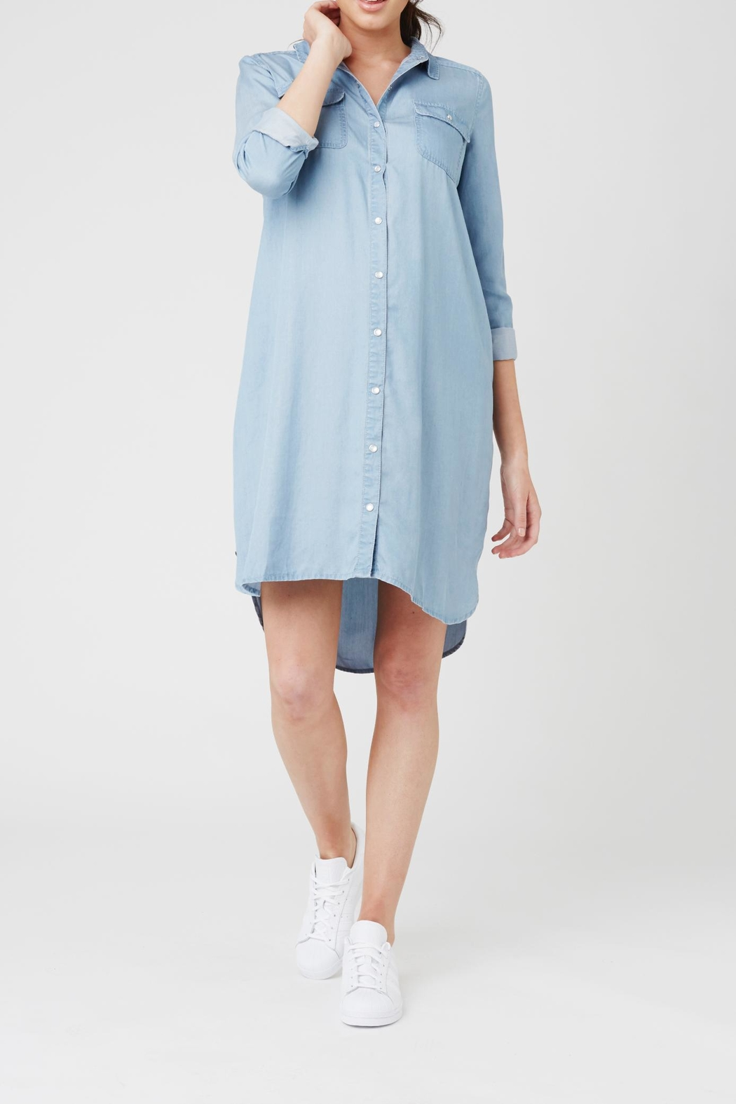 Ripe maternity weekend shirt dress from north carolina by bump ripe maternity weekend shirt dress front cropped image ombrellifo Image collections