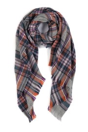 Shiraleah Ripley Plaid Scarf - Product Mini Image