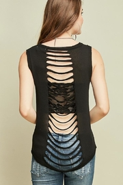 Entro Ripped Back Tank - Product Mini Image