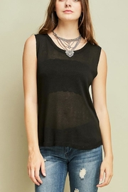 Entro Ripped Back Tank - Front full body