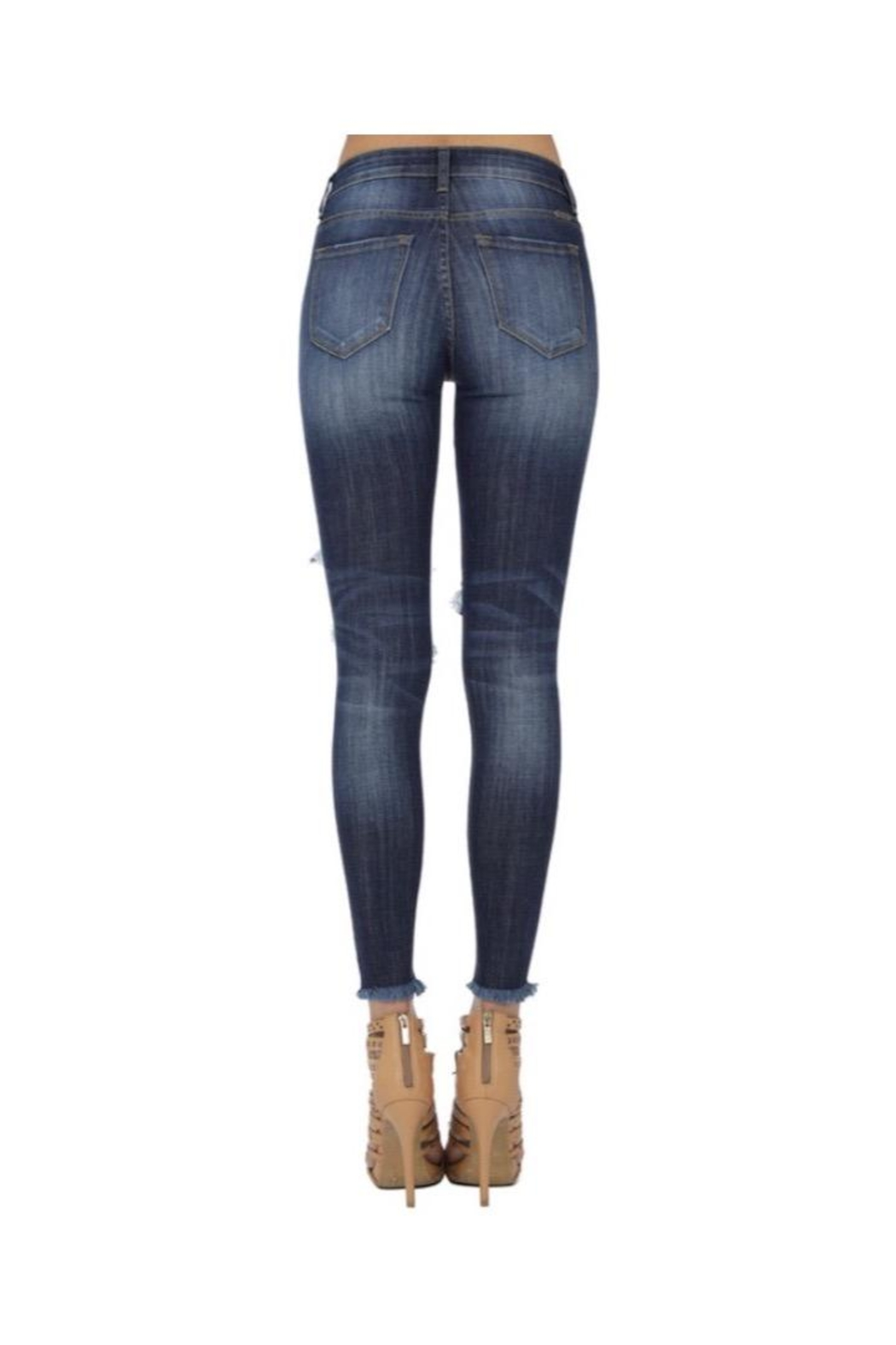 KanCan Ripped Skinny Jeans - Side Cropped Image