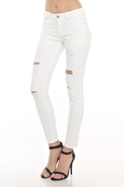 Monkey Ride Jeans Ripped Skinny Jeans - Front full body