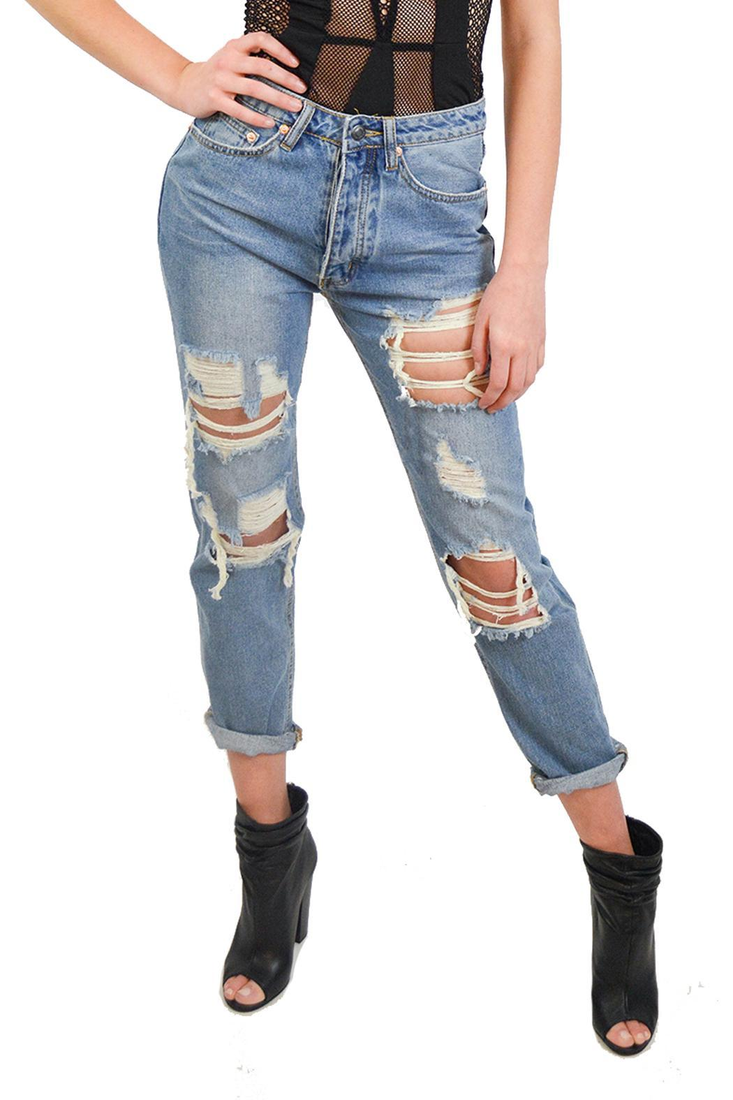 Alana Ferr Atelier Ripped Up Jeans from Philadelphia — Shoptiques