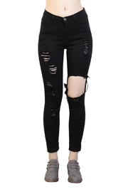 Rock Etiquette Rippeed Off Jeans - Front cropped