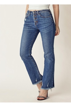 Shoptiques Product: Bootcut Fray Denim