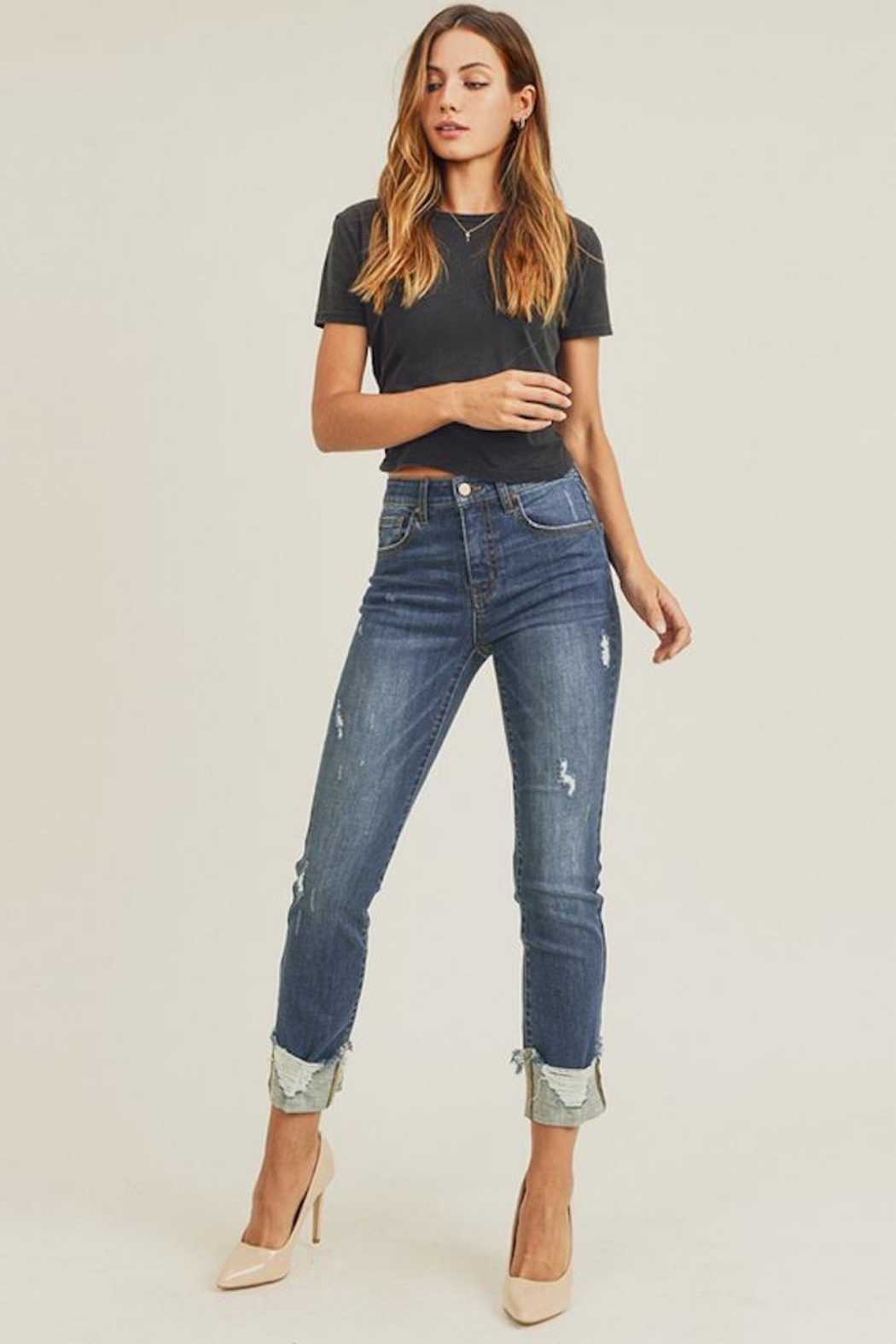 Risen Jeans  Fallen Jeans - Front Cropped Image
