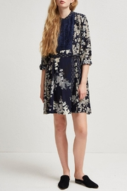 French Connection Rishiri Drape Dress - Front cropped