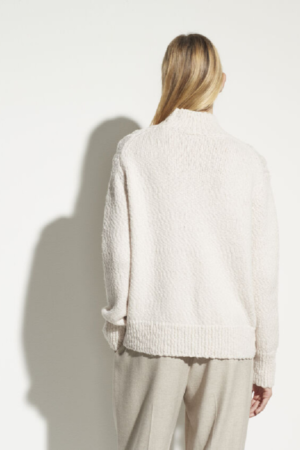 Vince Rising Cable Turtleneck - Front Full Image