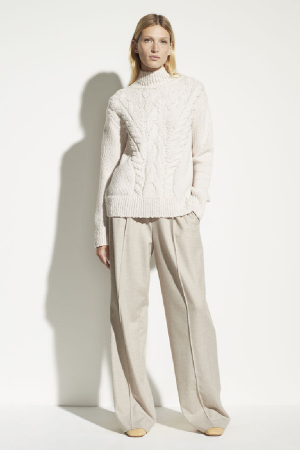 Vince Rising Cable Turtleneck - Main Image