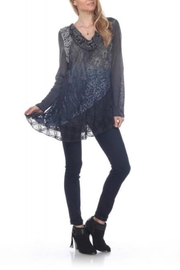 Rising International Knitted Tunic Top - Product Mini Image