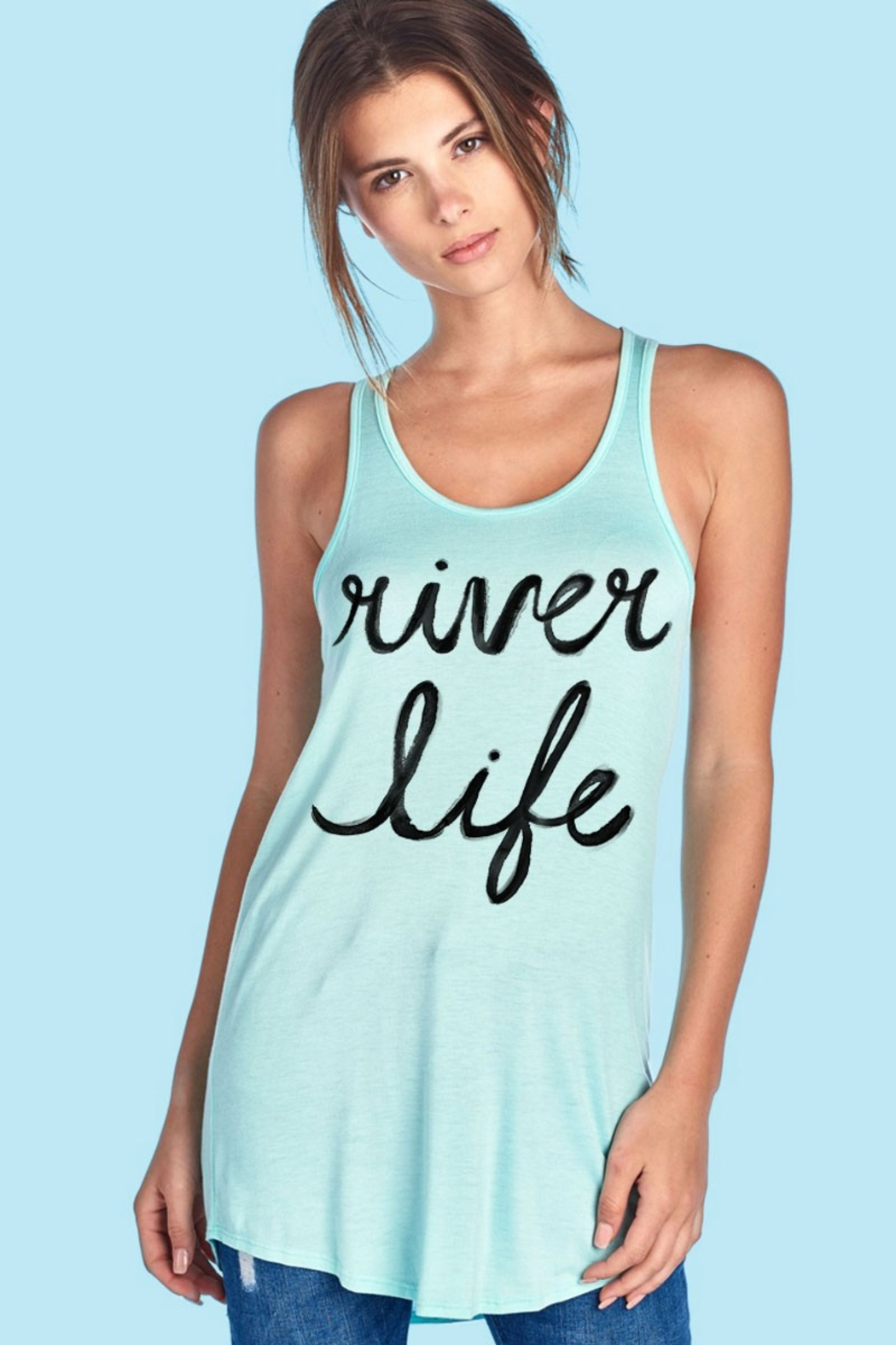 Color Bear RIVER LIFE TANK - Front Cropped Image