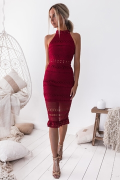 Two Sisters River Midi Dress - Product List Image