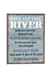 Ganz River Sign - Product Mini Image