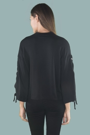 River + Sky  Laceup Arm Sweatshirt - Side cropped